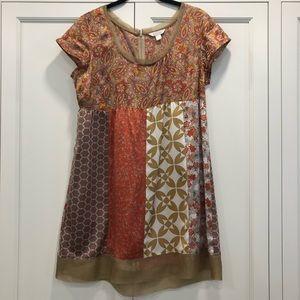 Garnet Hill silk tunic